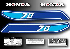 ATC 70 1982 Tank Decals Kit Stickers Set for Honda Trike