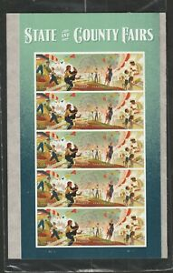 US 2019 SCOTT 5401-5404 STATE AND COUNTY FAIRS 20 MNH VF FOREVER STAMP SHEET NIP