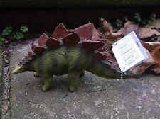STEGOSAURUS Wild Safari Ltd prehistoric dinosaur - 15 x 8 cm