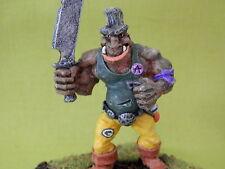 Warhammer royaumes ogres army-citadel ogre long oop peint métal modèle