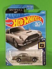 Hot Wheels - Aston Martin 1963 Db5 (Silver) [3/10 - Hw Screen Time]