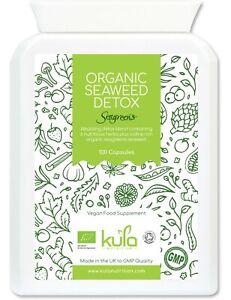 Organic Seaweed Iodine Supplement (192mcg per Tablet) - 100 Vegan Capsules