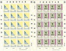 Feroe Foroyar EUROPA cept 1979 MNH - Hoja bloque / Souvenir Sheet
