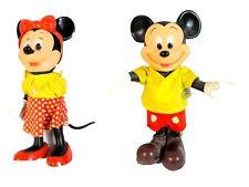 Vintage Mickey & Minnie Mouse Dolls