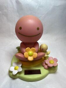 Tomy Hidamari No Tami - Sakurairo - Pink Eco Solar Bobblehead Toy