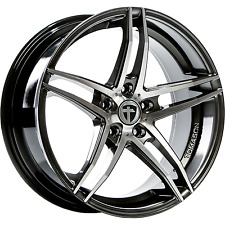 4x Tomason TN12 8,5x19 5x108 ET40 Dark hyperblack polished Ford Jaguar Volvo