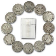 Roll Of 20 US Mint Barber 90% Silver Barber Half Dollar Coins