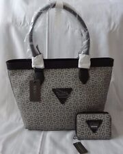 AUTHENTIC NEW NWT GUESS AISLIN TOTE BAG PURSE WITH MATCHING WALLET
