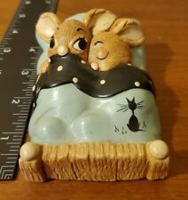"""Pendelfin Vintage Collectables Bunny Rabbit """"Twins"""" made in England"""