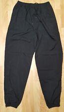 Nike Vintage Men's XL Black Nylon Windbreaker Slim Zip Ankle Running Pants EUC