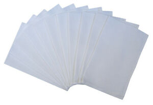 Pack of 10 Large Cotton Honeycomb Waiters Tea Towel Glass Cleaning Cloth