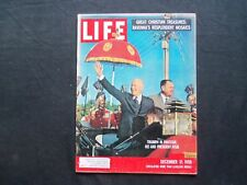 1959 DECEMBER 21 LIFE MAGAZINE - DWIGHT D. EISENHOWER IN PAKISTAN - L 1186