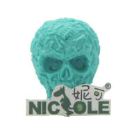 Halloween 3D Skull Shaped Silicone Mold DIY Soap Candle Making Resin Clay Craft