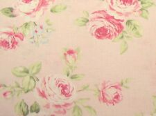 Cottage Shabby Chic Quilt Gate RURU Love Rose Love RU2300-13B Pink w/Pink Roses