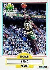 Rookie Shawn Kemp Single Modern (1970-Now) Basketball Cards