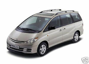TOYOTA PREVIA 2.4/GLS/CDX/ESTIMA/STAINLESS EXHAUST-NEW