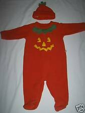 OSHKOSH BABY PUMPKIN COSTUME FOR BABY SIZE 6-9 MONTHS