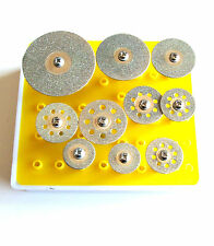 10 Diamond Coated Cutting Off Wheel Saw Blade Disk Fits Tool