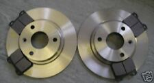 PEUGEOT 106 1.0 1.1 FRONT BRAKE DISCS AND PADS (3 STUD WHEELS) 1996 - 2003