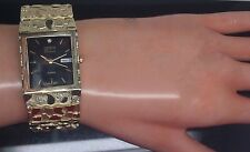New Men's/Women's 10 K Yellow Gold Nugget Watch Analog Watch with Date And Time