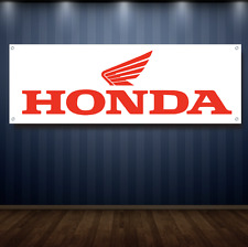 HONDA 1' X 3' Garage Banner, 13oz Vinyl - FREE SHIPPING Dealership Power sports