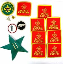 BSA Patches/Expos '81-2/Asst Patrol Ldr/Panther Ptrol/Chess/w Comments by Friend