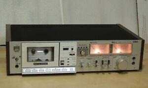 Vintage Aiwa AD-M700U Dual Motor Drive 3 Head Cassette Deck Dolby Read
