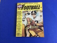 1976 STREET &. SMITH FOOTBALL YEARBOOK COVER PHOTO TERRY BRADSHAW STEELERS