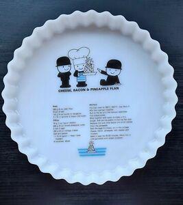 Bero Flan & Pie Glass Dish Excellent Condition.