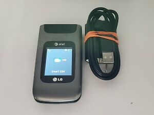 LG A340 Camera GPS Bluetooth 3G GSM Video Speaker MP3 Flip AT&T Cell Phone