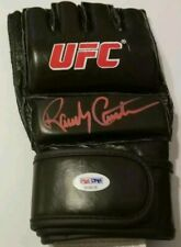 """RANDY COUTURE """"THE NATURAL"""" - SIGNED AUTOGRAPHED MMA GLOVE - UFC - PSA DNA COA"""