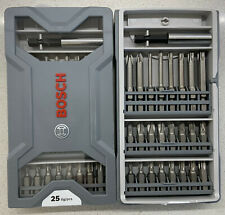 BOSCH 25-piece screwdriver bit set 2607017037