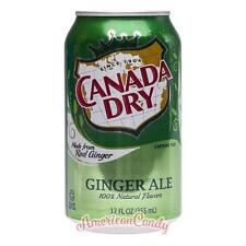 6x 355ml Canada dry ginger ale usa Import (4,69 €/L)