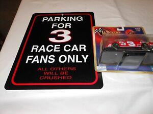 Dale Earnhardt NASCAR 50th anniversary 1:43  #3 Coca Cola Coke parking sign