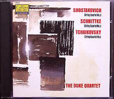 DUKE Quartet: Shostakovich Quartetto no. 8 Schnittke no. 2 Tchaikovsky 1 CD