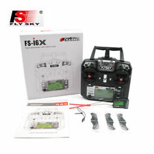Flysky FS-i6X AFHDS 2.4G 10CH Transmitter W/Receiver For RC Helicopter US STOCK