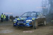 Colin McRae Subaru Impreza WRC 97 Winner Rally GB 1997 Photograph 3