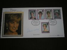 1998 GB Stamps PRINCESS DIANA BENHAM FDC Signed CATHERINE WALKER BLCS138b