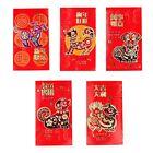 6PCS Colorful Dog Big Chinese New Year Money Envelopes Hong Bao Red Packet