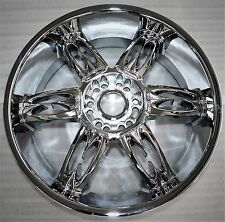 Dub Nasty 6 22x9 Chrome Replacement Wheel Discontinued 6-139.7 6-135 New Display