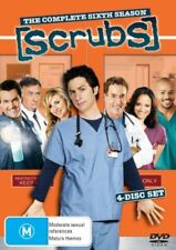 Scrubs : Season 6 (DVD, 2007, 4-Disc Set) Zach Braff