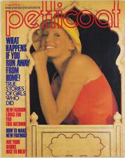 LINDISFARNE Cathee Dahmen MARY QUANT Annie Nightingale 1970's Petticoat magazine
