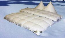 Eiszeit Premium 10 cm Winter Hochsteg Daunendecke Daunenbett 4x6  155x220 cm