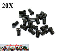 20X Lego® 32013 Technik Technic Verbinder Connector Nr.1 Schwarz Black NEU