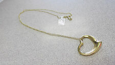 Tiffany & Company Large Peretti Heart Pendant & 30 in Necklace Make Offer