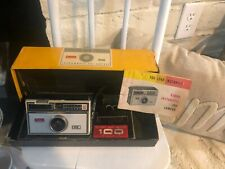 Vintage Kodak Instamatic 100 Outfit Camera with Box & Manual