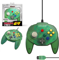 Retro-Bit Tribute 64 Controller for Nintendo N64 Original Port Forest Green