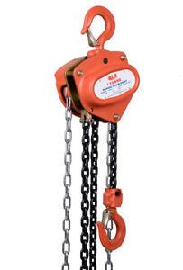 NEW industrial lifting equipment Chain Block 1t x 6mtr