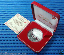 1990 Singapore Mint's Lunar Series $10 Year of the Horse 1 oz Silver Proof Coin