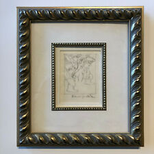 Original signed Maurice Sendak drawing Shakespeare study for CD cover artwork